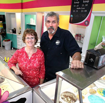Jim and Sharon Cullman